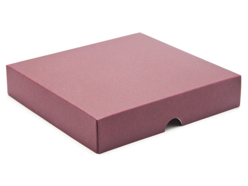 16 Choc Square Wibalin Lid - Burgundy - [LID ONLY] | MeridianSP