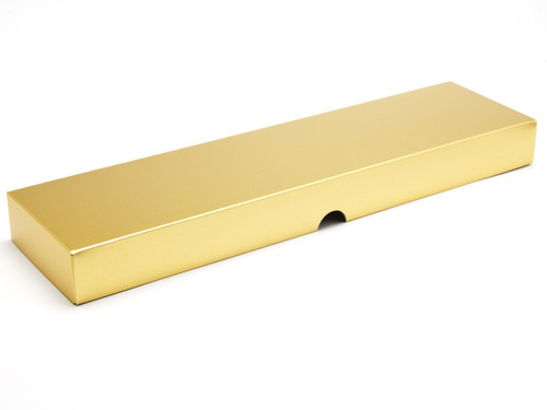 16 Choc Matt Gold Fold Up Lid for Chocolates, Wax Melts, Iced Biscuits