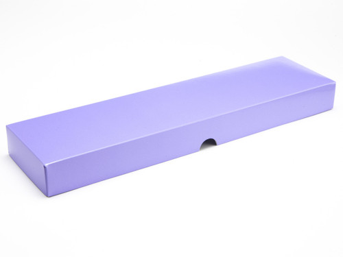 16 Choc Lilac Fold Up Lid for Chocolates, Wax Melts, Iced Biscuits