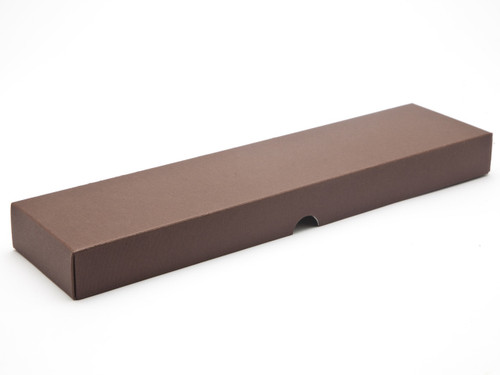 16 Choc Chocolate Brown Wibalin Rigid Fold up Lid