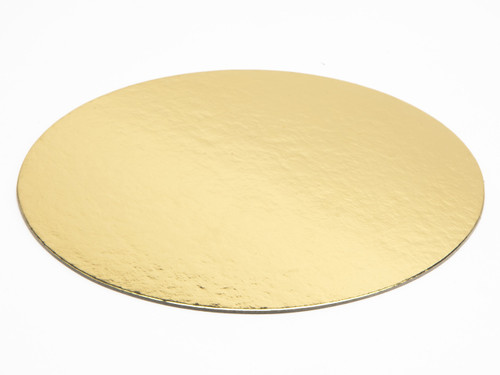160mm Diameter Basecard - Cakeboard (Gold/Silver) | MeridianSP
