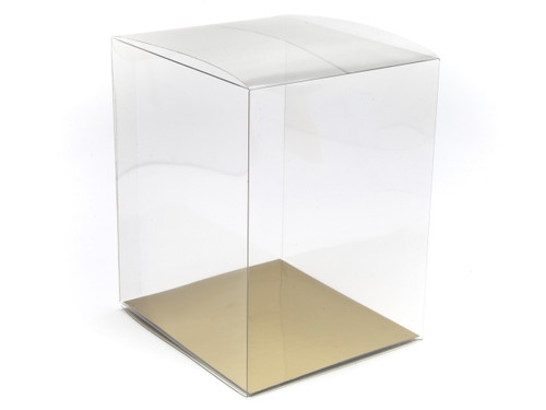135x160x200 Rectangular Transparent Carton - Clear | MeridianSP