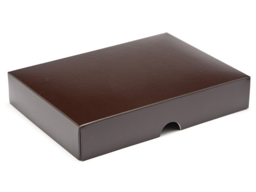 12 Choc Chocolate Brown Lid for Chocolates, Wax Melts, Iced Biscuits