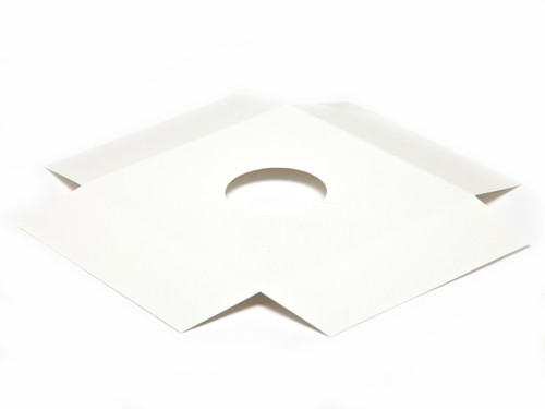 Plinth to fit Angled Base for XL Transparent Tapered Easter Carton - White | MeridianSP