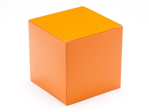 80mm Cube Carton - Orange | MeridianSP