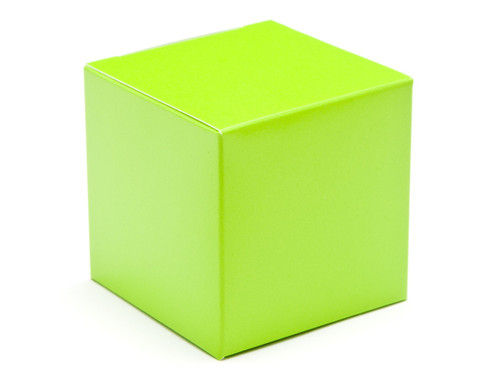 60mm Cube Carton - Vibrant Green | MeridianSP