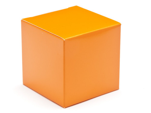 60mm Cube Carton - Orange | MeridianSP