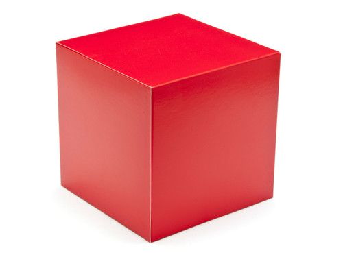 120mm Cube Carton - Red | MeridianSP