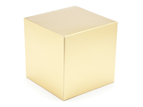 120mm Cube Carton - Matt Gold | MeridianSP
