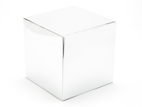 120mm Cube Carton - Bright Silver | MeridianSP