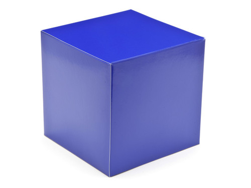 120mm Cube Carton - Blue | MeridianSP