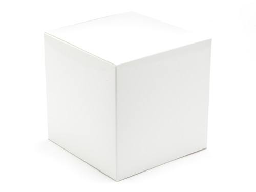 100mm Cube Carton - White | MeridianSP