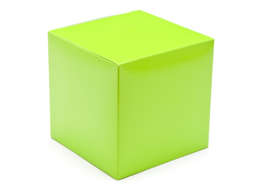 100mm Cube Carton - Vibrant Green | MeridianSP