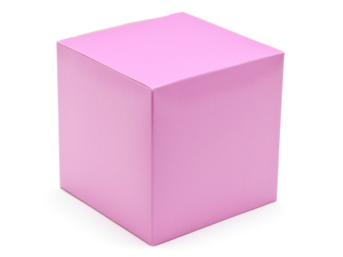 100mm Electric Pink Crashlock Cube Carton