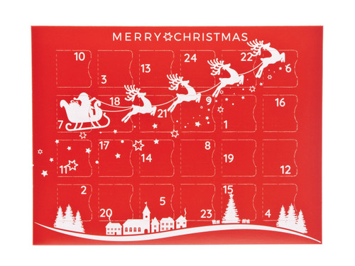 Premium Light Advent Calendar - Sleigh | MeridianSP