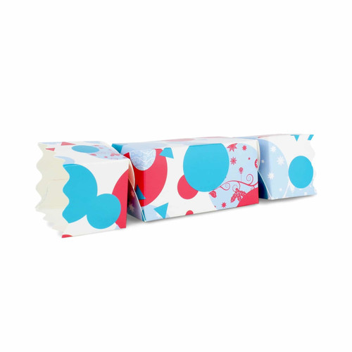 Extra Large Twist End Cracker - Spots and Baubles| MeridianSP