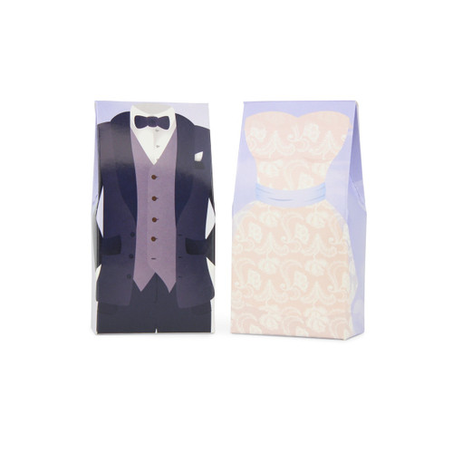 Wedding Bride and Groom Favour Boxes