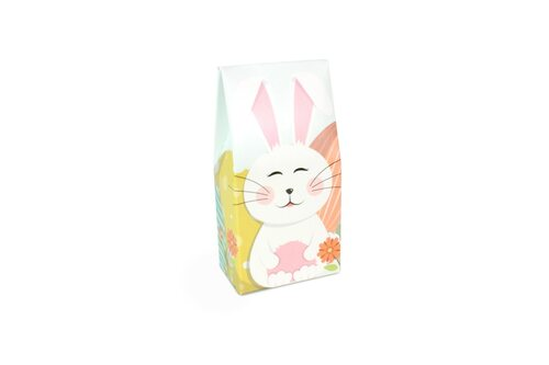 Mini Tapered A Frame Easter Bunny Gift Carton