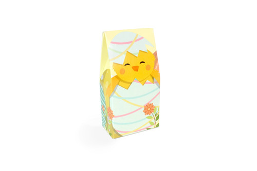 Mini Tapered A Frame Easter Chick Gift Carton