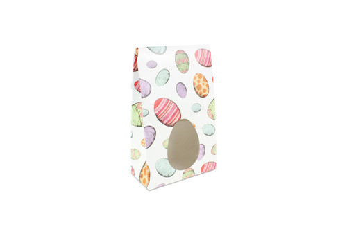 Small Eggs upon Eggs Easter A-Frame Carton with Oval Window