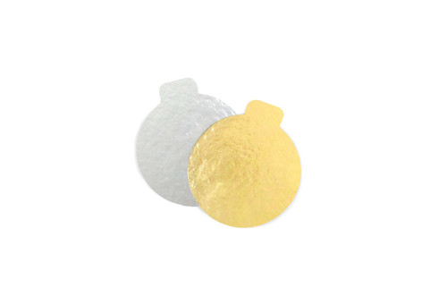 60mm Round Cake Mat with Tab