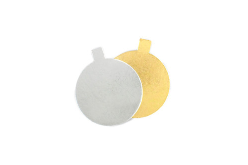 70mm Round Cake Mat with Tab  MeridianSP