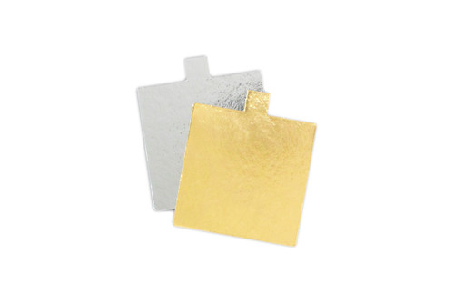 75mm Square Cake Mat With Tab