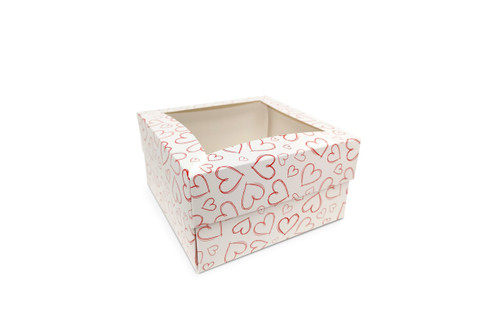 Medium Light Heart Cake Box