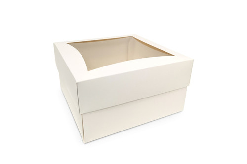Extra Large White Cake Box