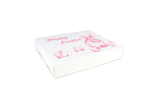 12 Day Advent Calendar -Easter Bunny Pink on White| MeridianSP