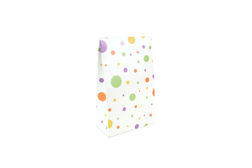 Small A Frame Tapered Gift Carton Spots and Dots Polka Dot Pattern