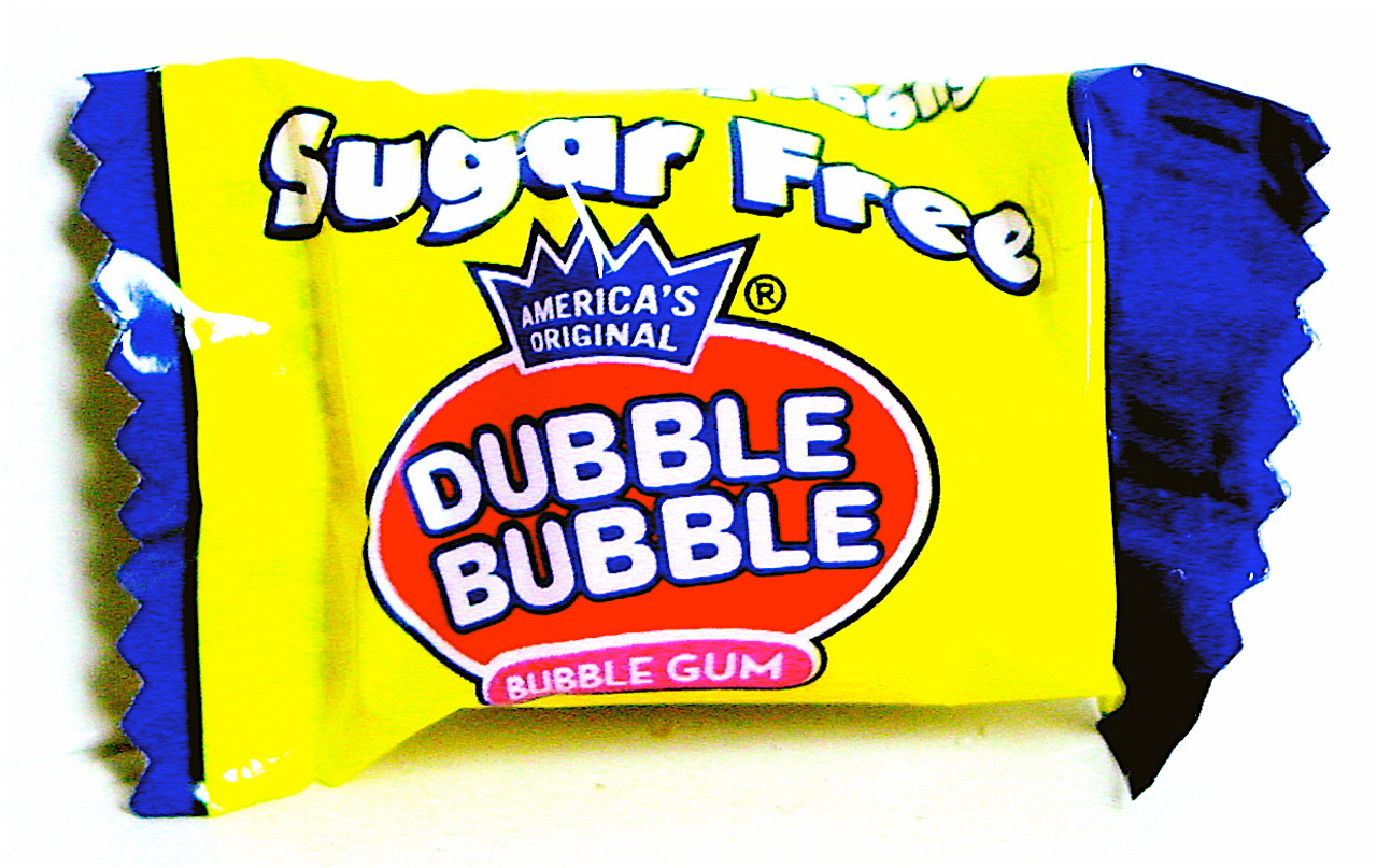 Dubble Bubble Sugar Free Bubble Gum, Sugarless, Individually wrapped