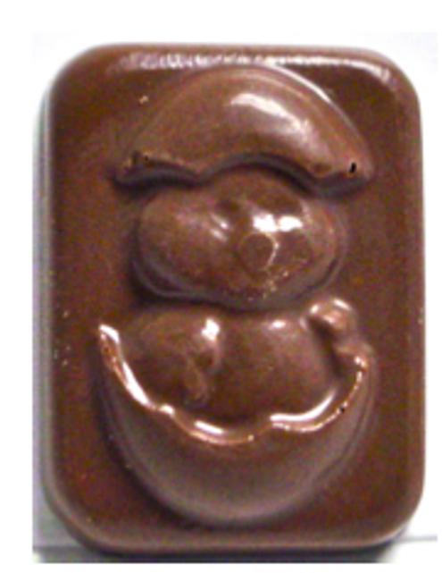 "1 inch Sugar Free ""Duck Hatching"" Chocolate Bite"