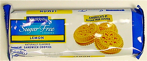 Keebler/Murry Sugarfree Lemon Sandwich Cookies, 1 oz Portion Control Pack (28 g-3 cookies) Kosher OU dairy