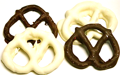 Sugar Free Double Dipped Chocolate Covered Pretzels