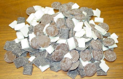 Sugar Free Milk Chocolate, Dark & White 10 oz Sampler Bag