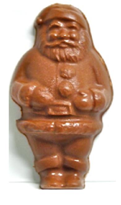 Sugar Free Christmas Santa, Milk Chocolate 2 oz