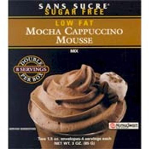 Sans Sucre Mousse Mix - Mocha Cappuccino Sugar Free