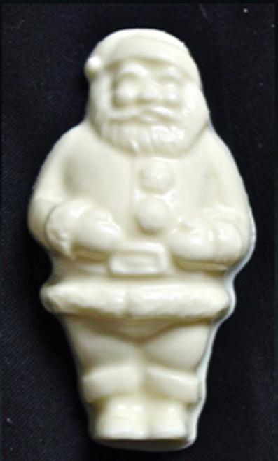 White Chocolate Sugar Free 2 oz Santa, Individually wrapped.