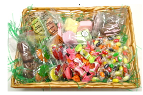 Sugar Free, Diabetic Friendly, Easter Gift Basket