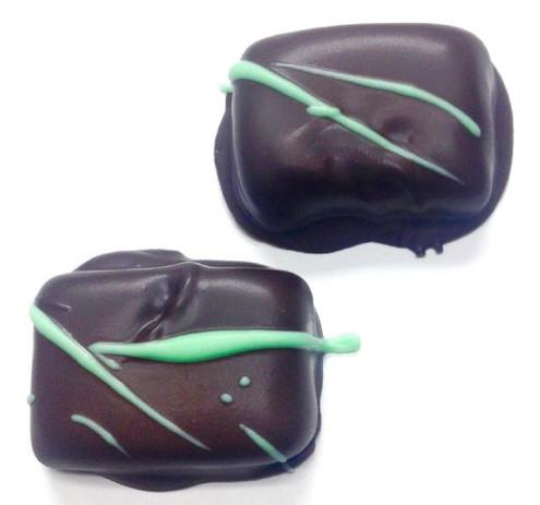 Diabeticfriendly's Sugar Free Chocolate Peppermint Cream, 21 pcs, about 18 oz, GOLD GIFT BOX