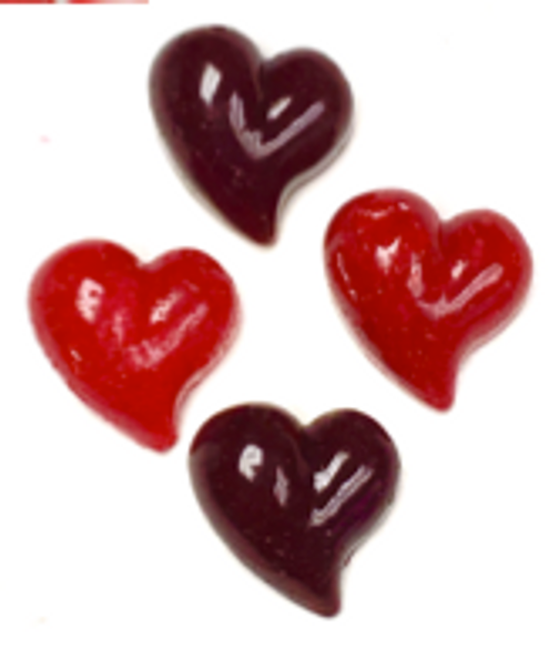 Sugar Free Hard Candy Hearts, Set of 4 -  .5 oz each