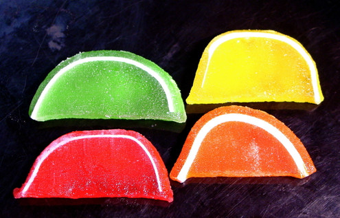 Fruit Slices, Sugar Free, Individually Wrapped, Assorted Flavors, Kosher