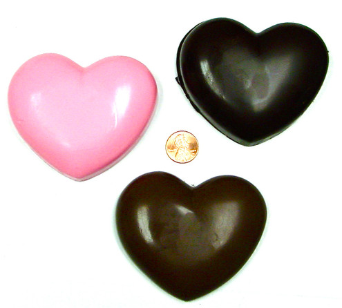 Giant Sugar Free Chocolate Heart, 3.25 x 2.75, 4.5 oz