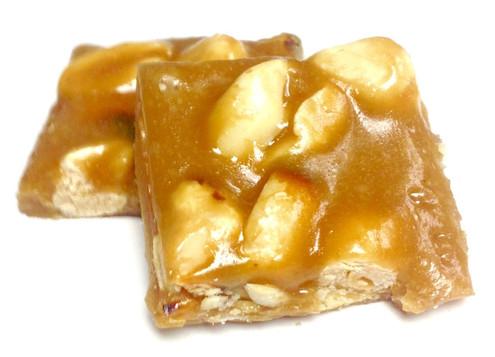 Diabeticfriendly's Sugar Free Peanut Brittle BITES - Handcrafted in USA, 8 oz mylar bag