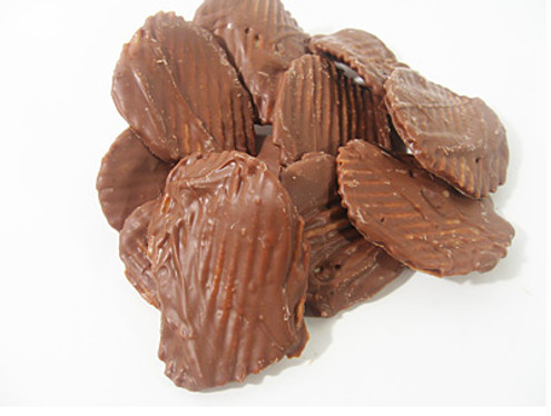 Sugar Free Hand Dipped Chocolate covered Potato chips
