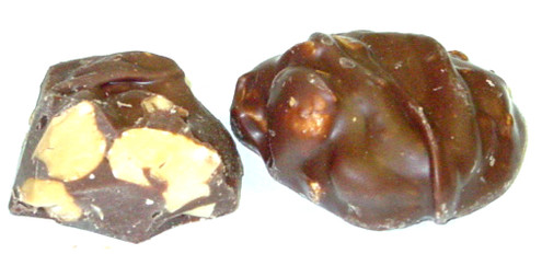 NSA Milk Chocolate Cashew Clusters 45pcs About 14oz - (2 layers)