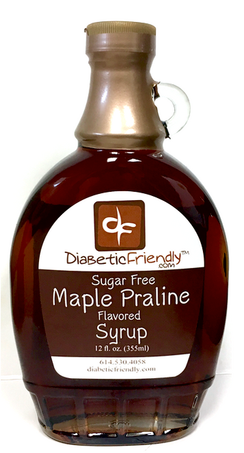Sugar Free Maple Praline Syrup