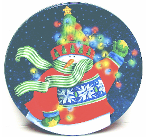 christmas tin with candy