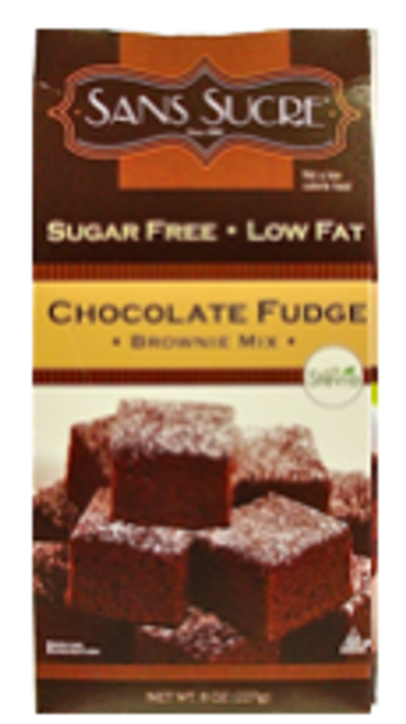 Sugar Free Chocolate Fudge Brownie Mix 8 oz, Sans Sucre, Kosher cRc-d
